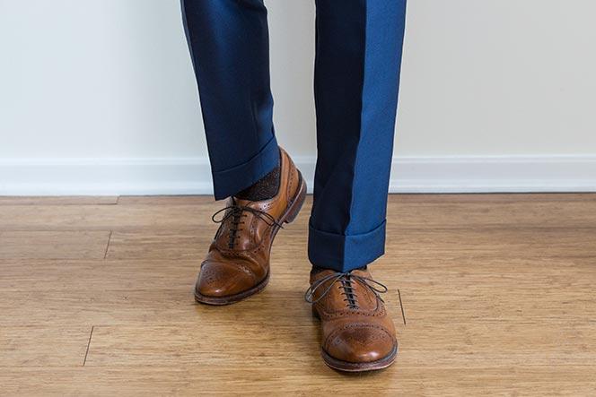 Produzione pantaloni fason